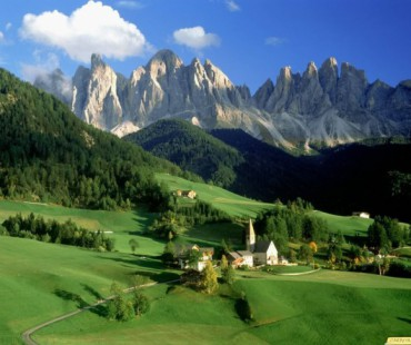 Alpes, cumbres y lagos